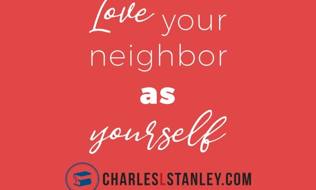 Are you praying for your neighbors?