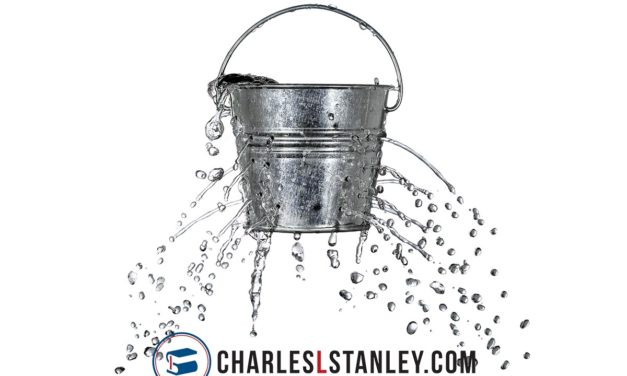 We are all a bunch of leaky buckets